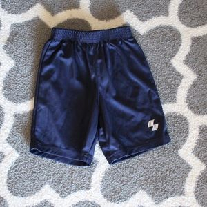 Boys Navy Gym Shorts